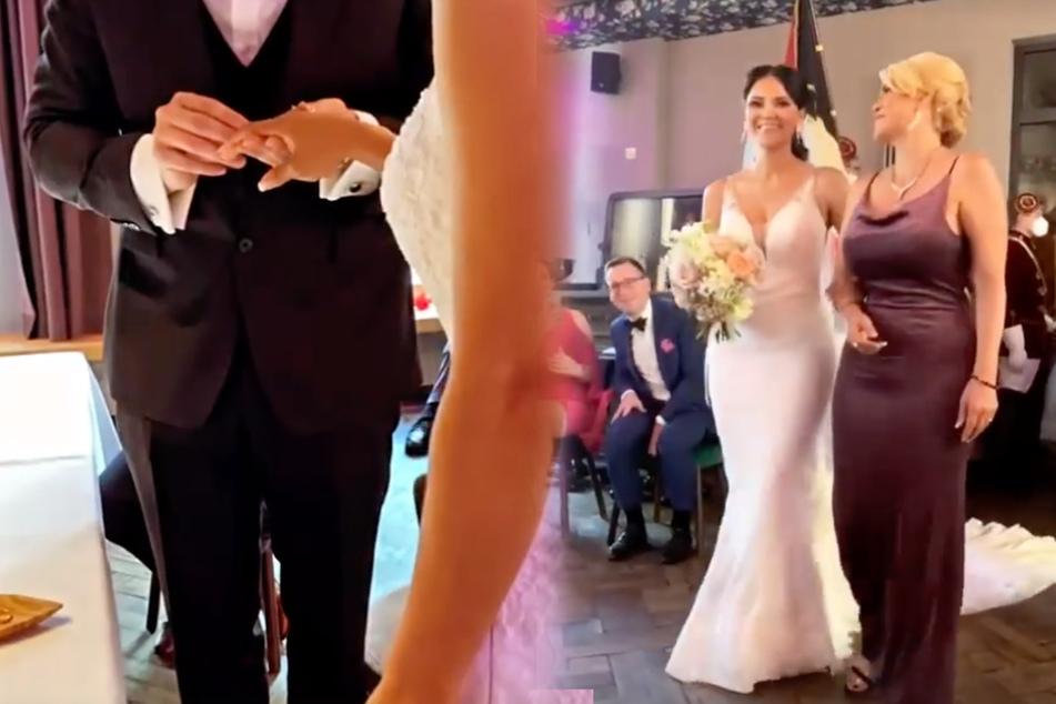 Kattia Vides (33) teilte einige Aufnahmen von ihrer Hochzeit mit ihren Fans über Instagram.