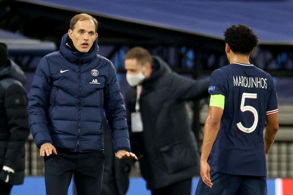 Für Thomas Tuchel geht es in seiner offenbar letzten Saison als Cheftrainer von PSG ohne Punkte aus Leipzig zurück nach Frankreich.
