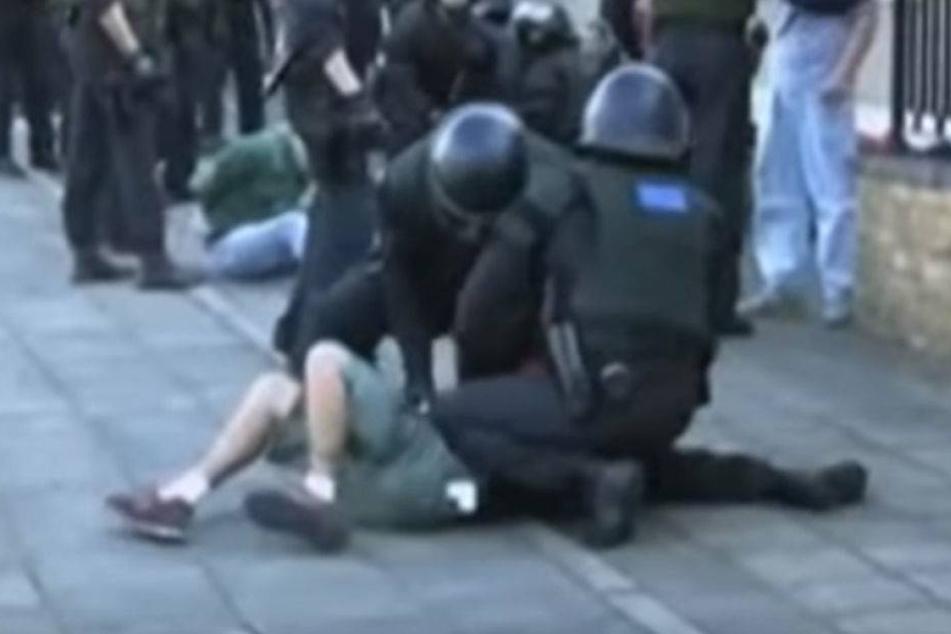 Prügel gegen Fußballfan: Polizist verurteilt
