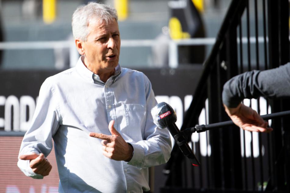 BVB-Coach Lucien Favre will nichts von Aufgeben wissen.