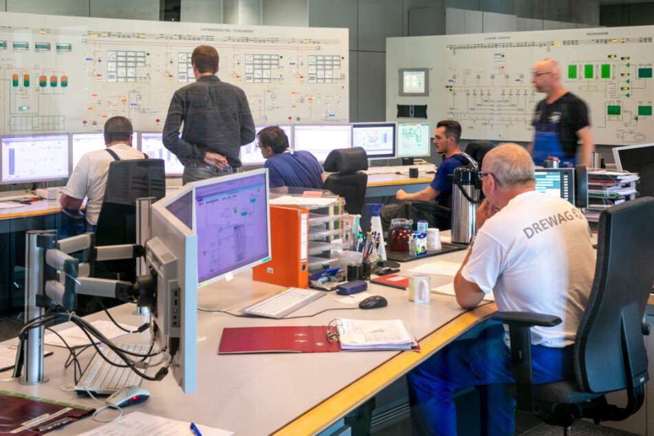 Im Steuerungsraum laufen alle Informationen zusammen.