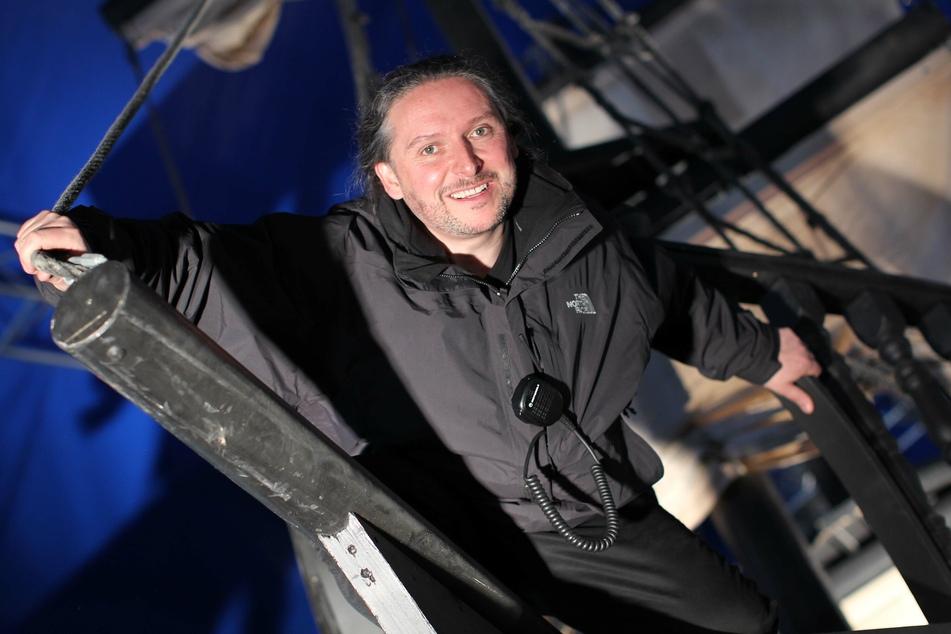 Theater-Chef Dirk Grünig (53) kämpft um die Existenz seiner Truppe.