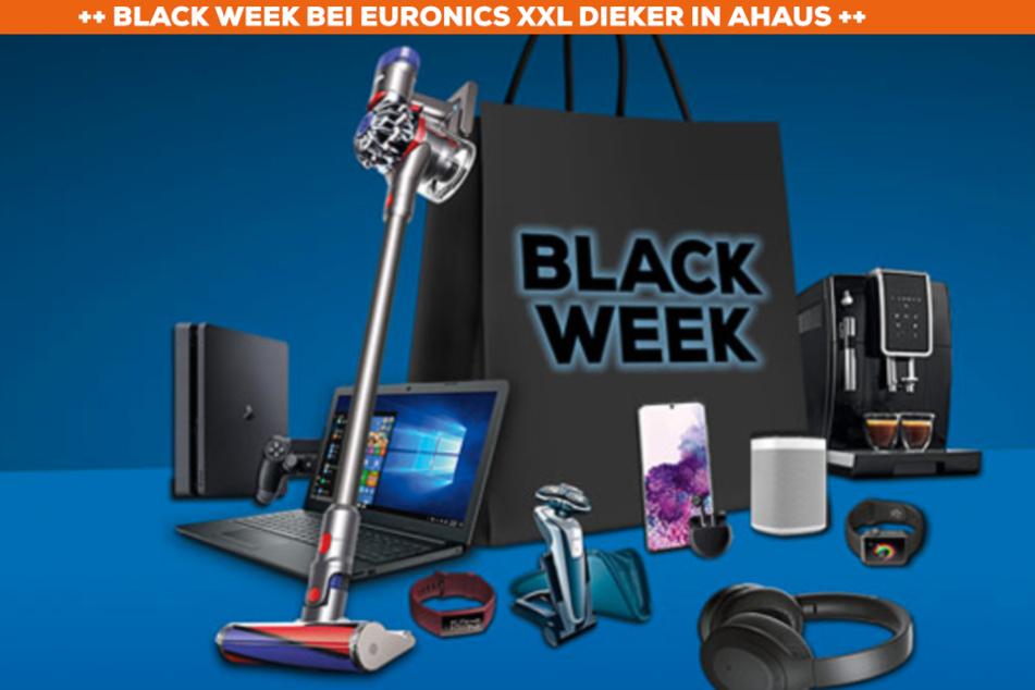 Bis 30. November: Black Week bei Euronics XXL Dieker in Ahaus!