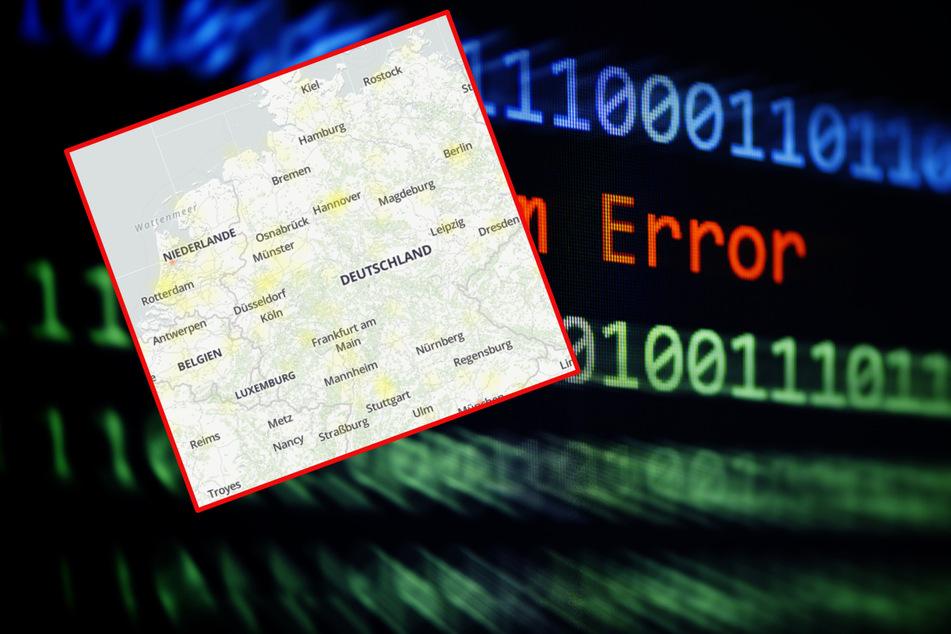 Viele Internet-User bekommen eine Fehlermeldung angezeigt. Die Störungskarte auf Alle Störungen zeigt viele betroffene Personen unter anderem beim Playstation Netzwerk (Symbolbild).