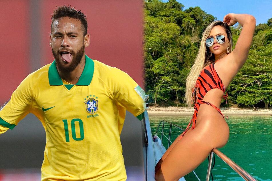 Läuft da was zwischen Neymar (28) und der Sängerin Gabily (25)?