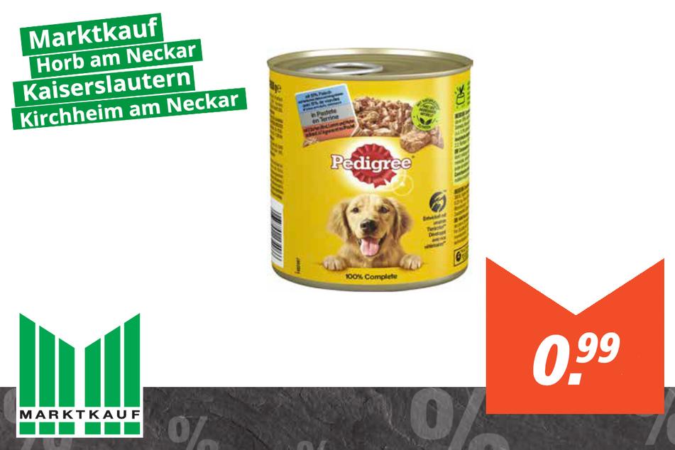 Pedigree Hundefutter für 0,99 Euro