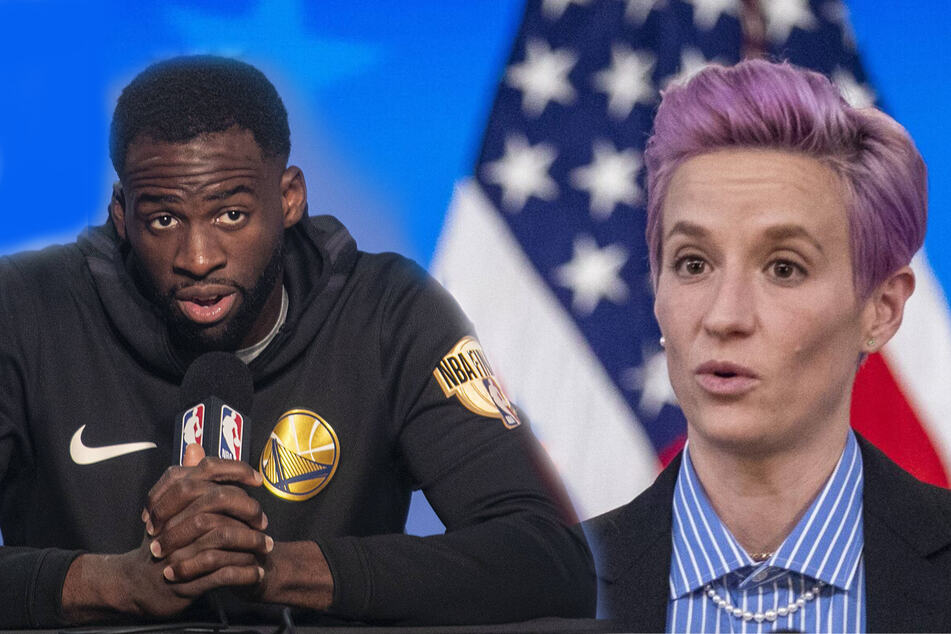 Megan Rapinoe and Draymond Green in war of words over women's equal pay
