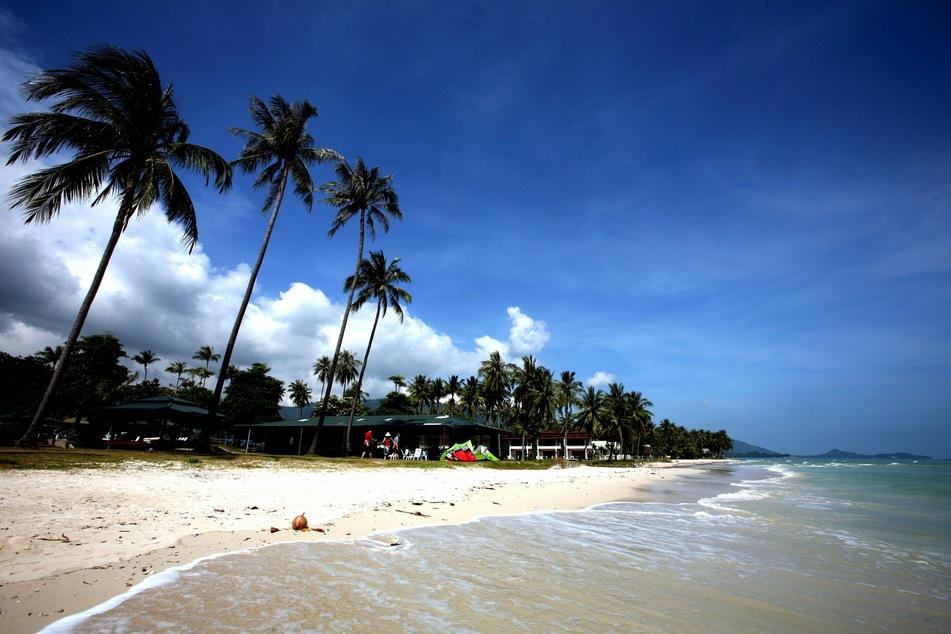 Der Hua Thanon Strand auf der thailändischen Ferieninsel Ko Samui.