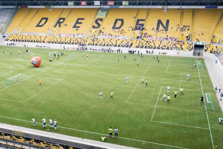 Was ist denn im Mai im Dynamo Stadion los?