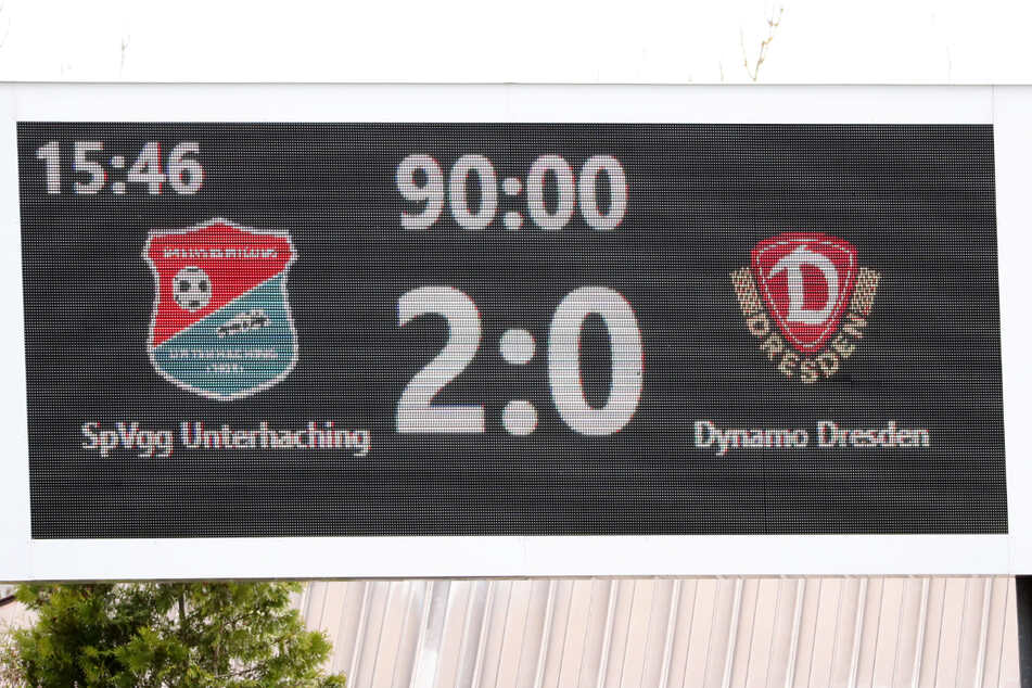 Schon wieder kein eigener Treffer! Auch beim Tabellenletzten brach Dynamo den Bann nicht und wartet nun seit drei Partien auf ein Tor.