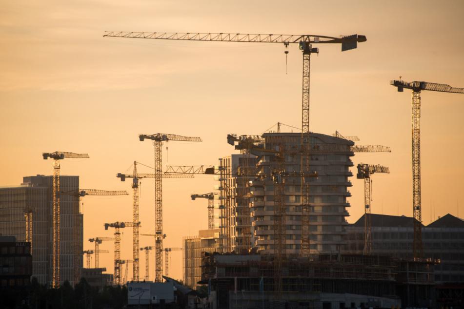 Der Baubranche in Hamburg geht es trotz Corona gut.