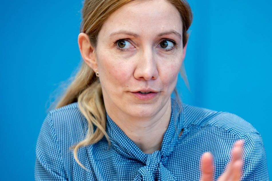 Sandra Ciesek (43), Direktorin des Instituts für Medizinische Virologie am Universitätsklinikum Frankfurt.
