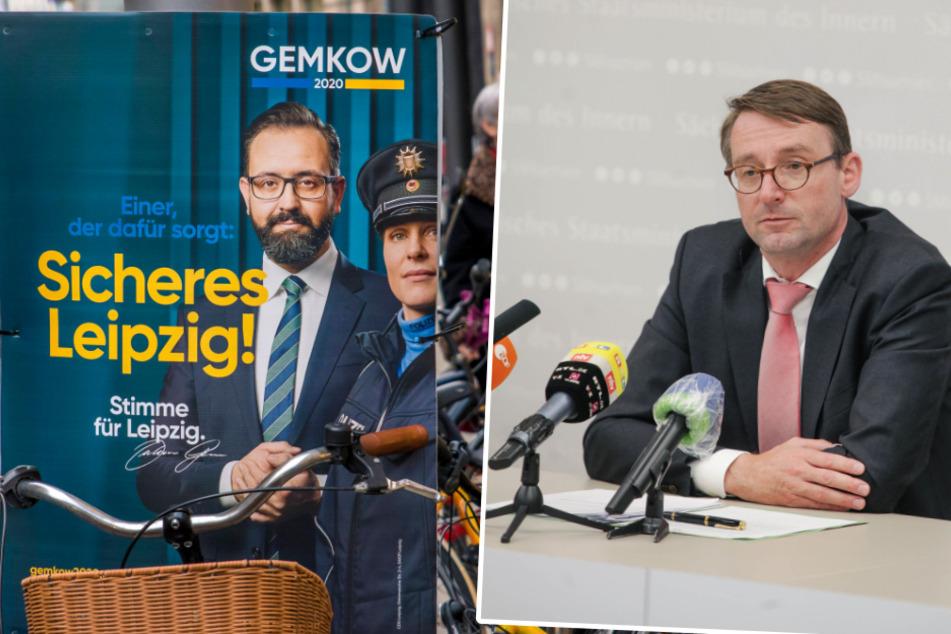 Leipzig: Hielt Minister Wöller Polizeiskandal wegen der Wahlen unter der Decke?
