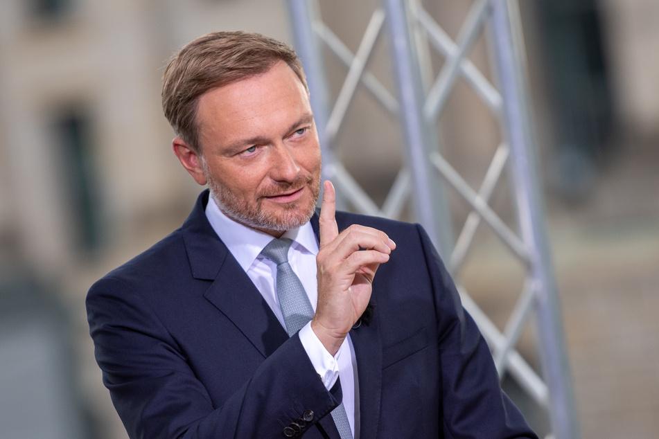 Christian Lindner (42), Parteivorsitzender der FDP.