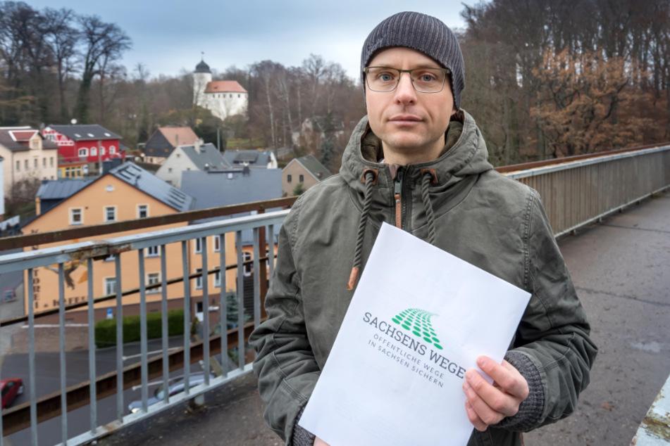 Chemnitz: Chemnitz: Was wird aus dem Wanderweg über das Rabensteiner Viadukt?