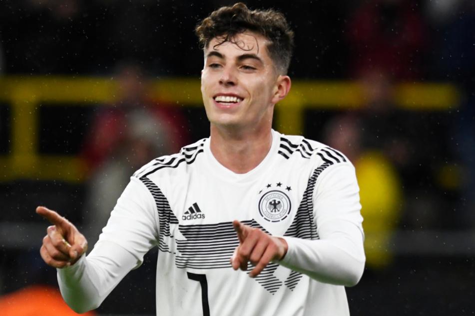 Der siebenfache deutsche Nationalspieler Kai Havertz (20) soll die Offensive des FC Chelsea weiter verstärken.