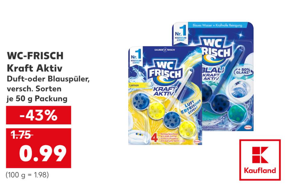 WC-FRISCH KRAFT AKTIV für nur 0,99 Euro.