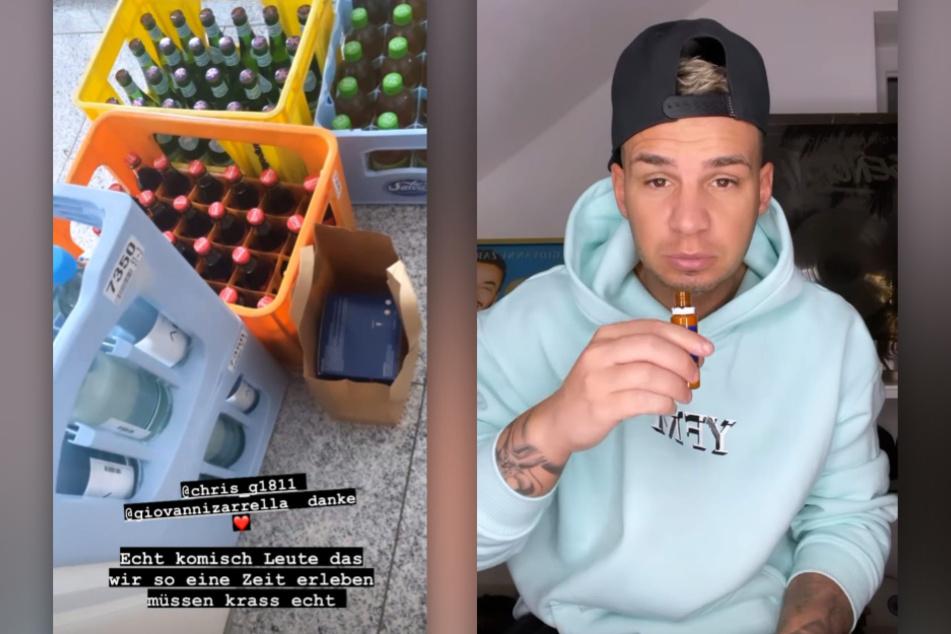 Pietro Lombardi (28) versucht sich mit Vitaminen fit zu halten. (Fotomontage)
