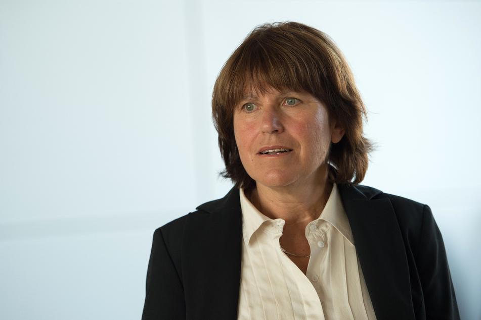 Bleibt noch bis zum 31. Oktober Bürgermeisterin von Zwickau: Pia Findeiß (64, SPD).