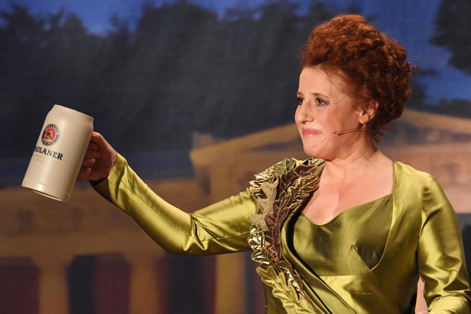 Die Kabarettistin Luise Kinseher braucht das menschliche Lachen. (Archiv)