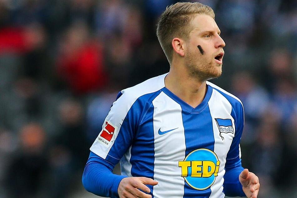 Arne Maier (22) spricht von einer großen Ehre, dass Boateng für die Hertha spiele.