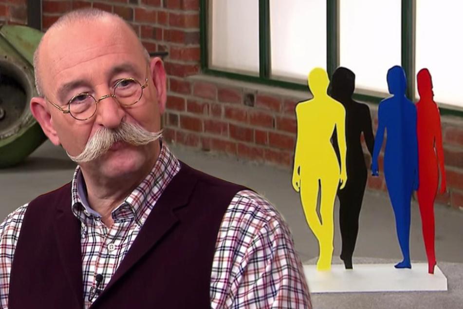"""""""Bares für Rares""""-Moderator Horst Lichter (59) gerät bei diesem Kunstwerk so richtig ins Staunen."""