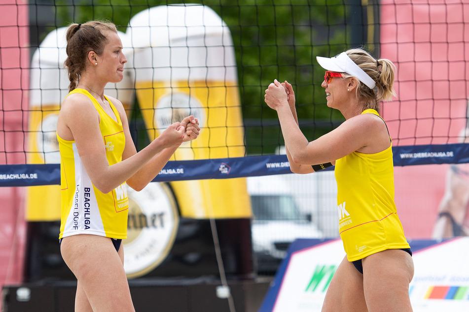 """Karla Borger und Svenja Müller gewinnen Beach-Liga: """"Mega entwickelt!"""""""