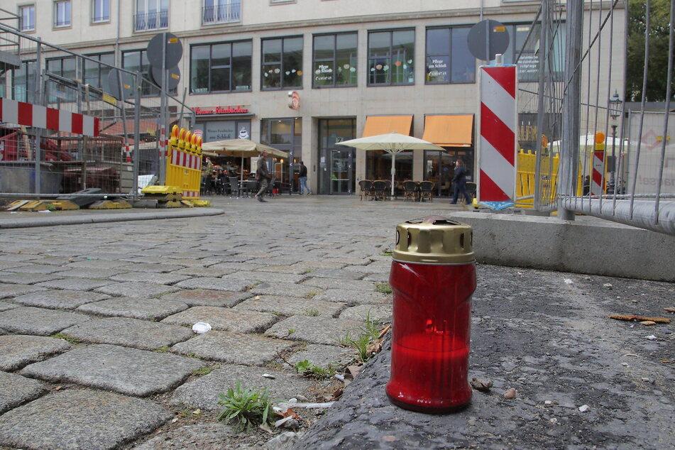 An diesem Ort an der Dresdner Schloßstraße griff Abdullah A. H. H. im Oktober 2020 Thomas L. und Oliver L. an.