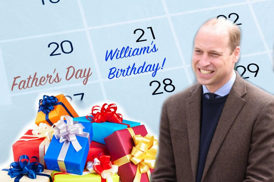 Prince William enjoys a double celebration with royal kids