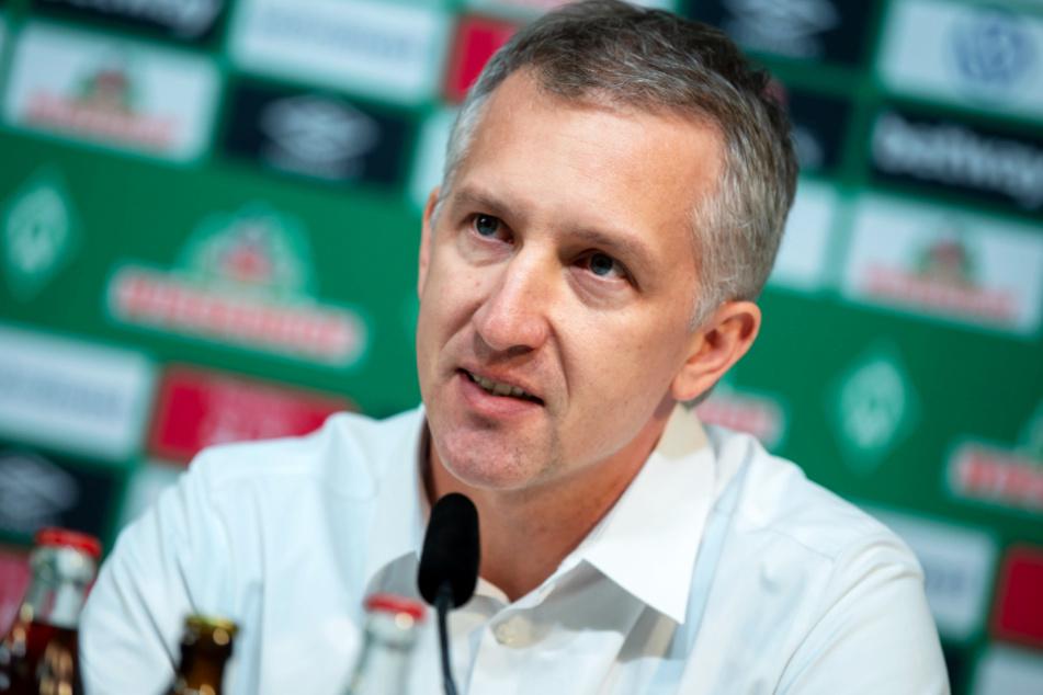 Sport-Geschäftsführer Frank Baumann bleibt ebenfalls an Bord.