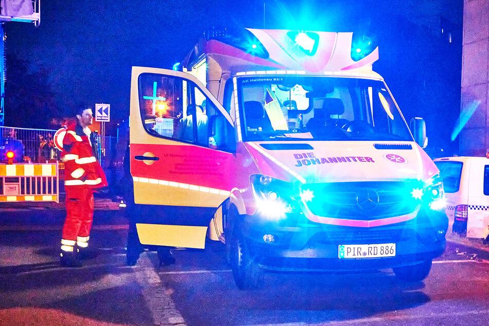 Der Rettungsdienst behandelte mindestens vier Personen ambulant.