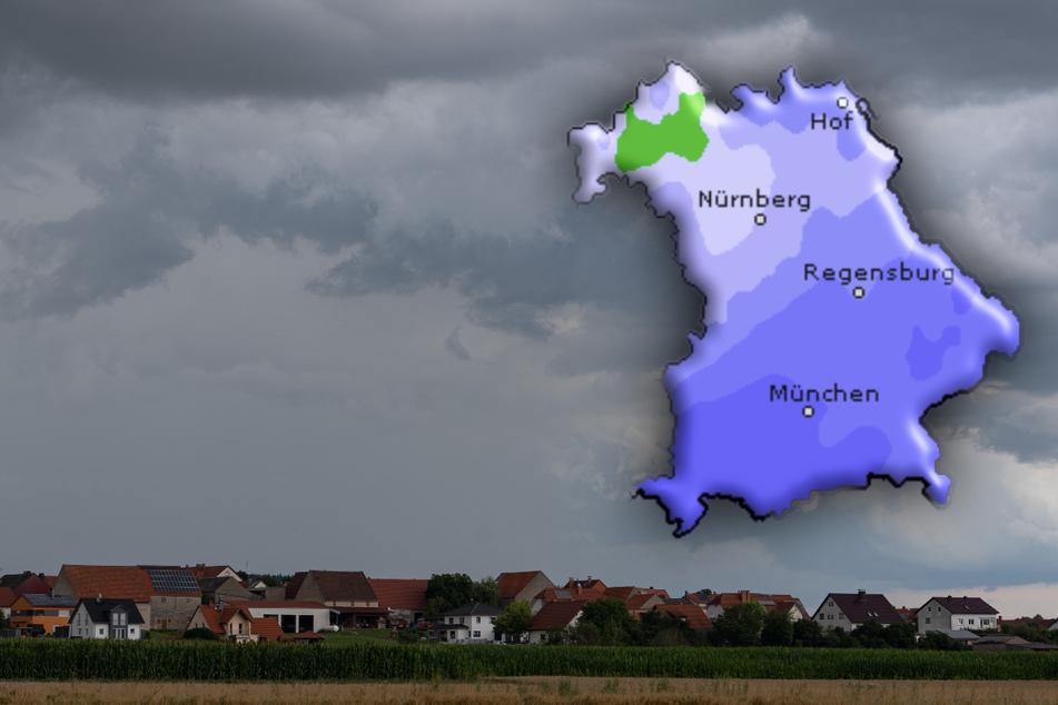 In Bayern bleibt das Wetter unbeständig mit lokalen Schauern und teil heftigen Gewittern.