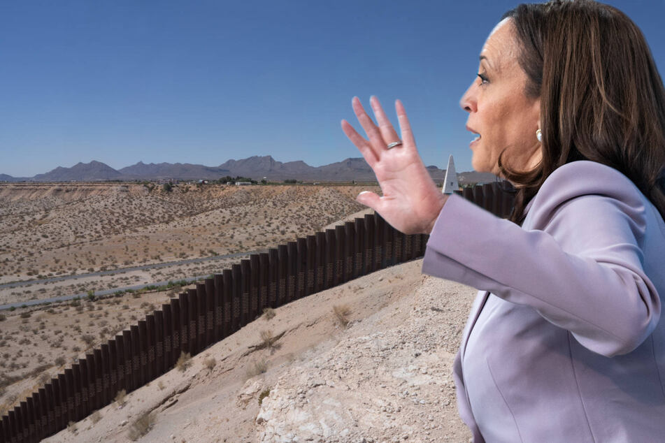 Kamala Harris set to visit US southern border for first time as vice president