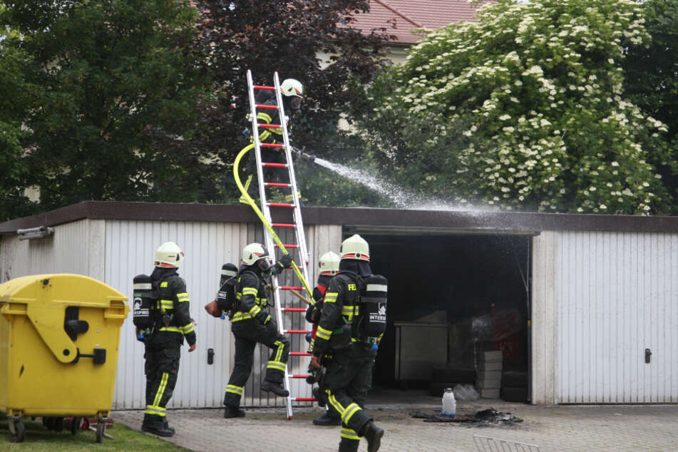 Die Kameraden konnten sämtliche Flammen löschen.