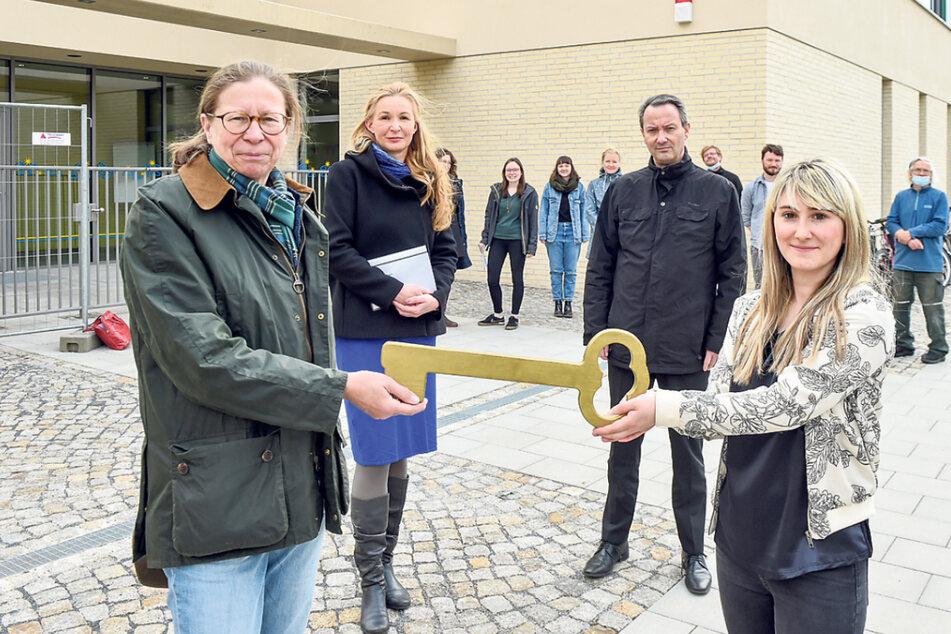 Dresden: Kita-Eröffnung: Viele neue Betreuungsplätze für die Neustadt