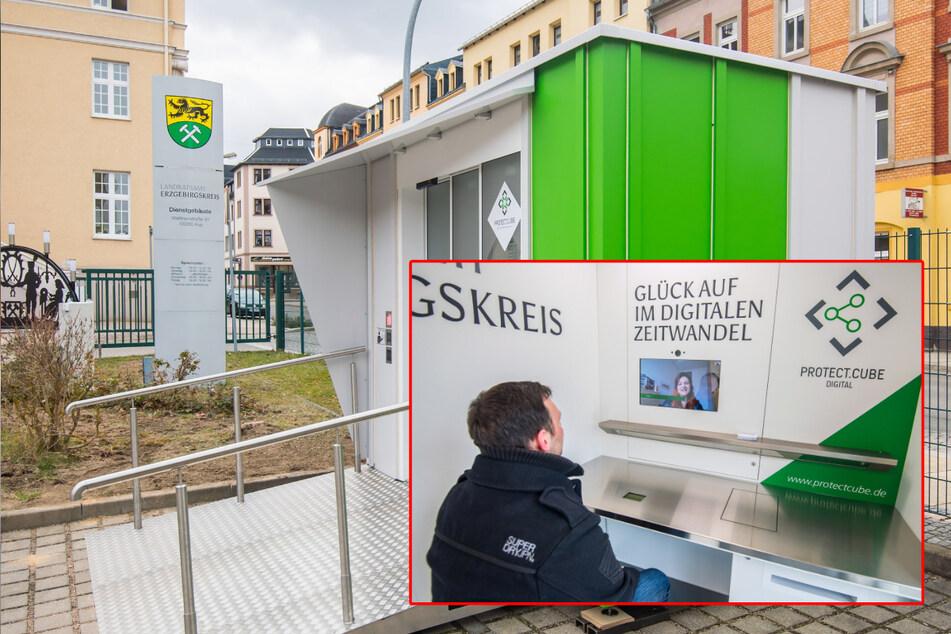 Unkomplizierte Behördengänge dank innovativer Technik: Landratsamt hat jetzt Treff-Würfel