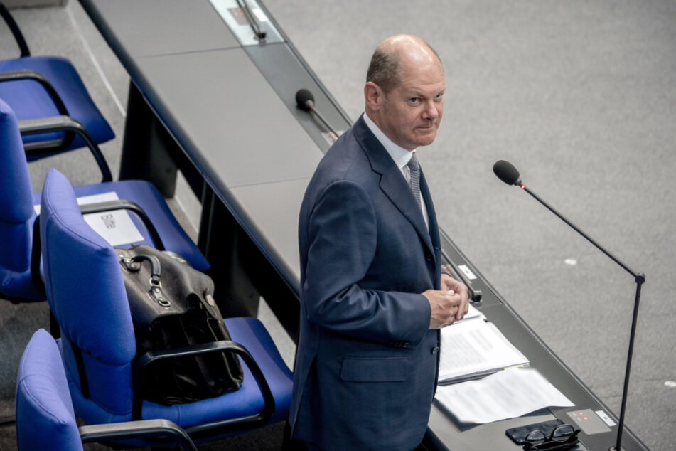 Olaf Scholz (SPD), Bundesminister der Finanzen.