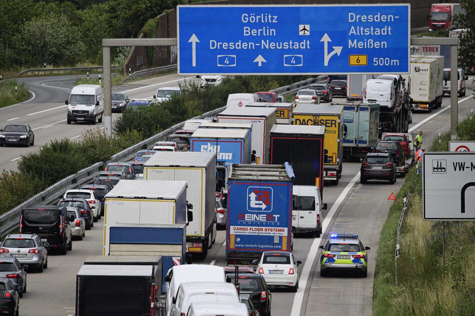 Osterferien für Sachsens Schüler: Auf diesen Autobahnen klemmt's