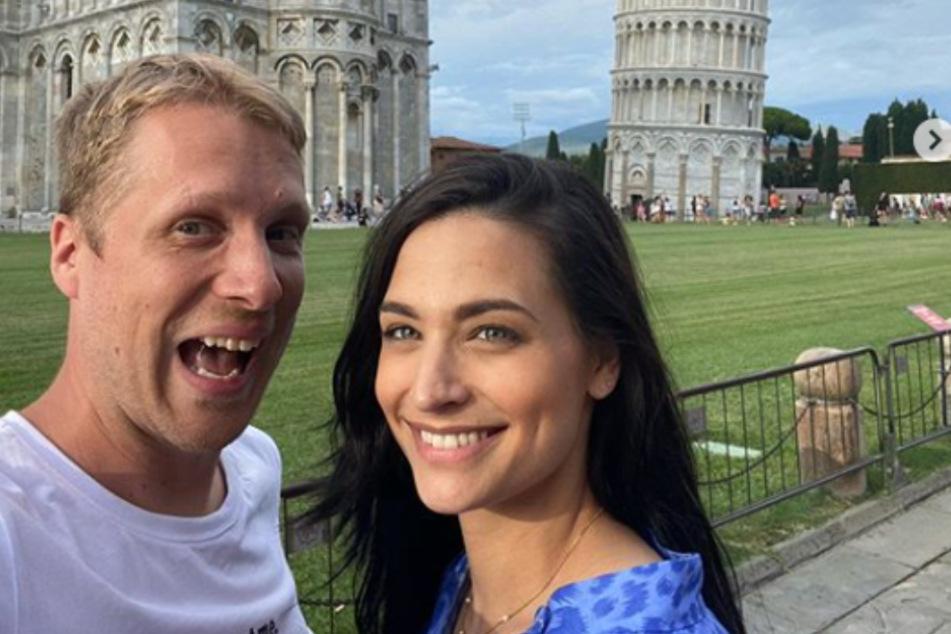 Oliver Pocher (42) und Amira Pocher (28) haben sich in ihrer RTL-Show einen Spaß auf Kosten von Boris Becker (52) geleistet.