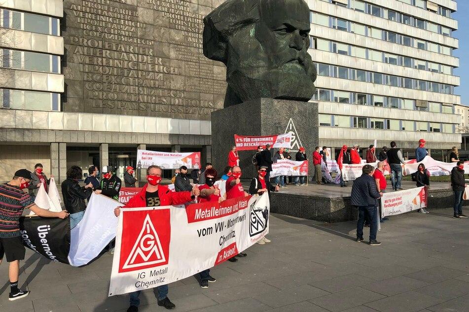 Forderungen werden laut: Demo am Nischel in Chemnitz