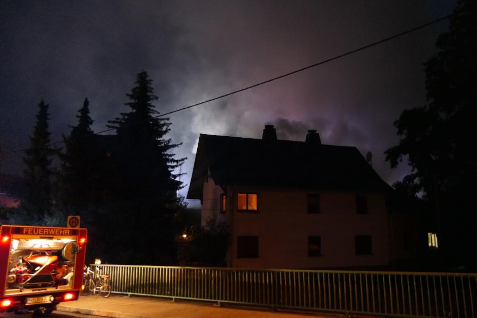 Die Einsatzkräfte konnten den Brand schnell unter Kontrolle bringen.