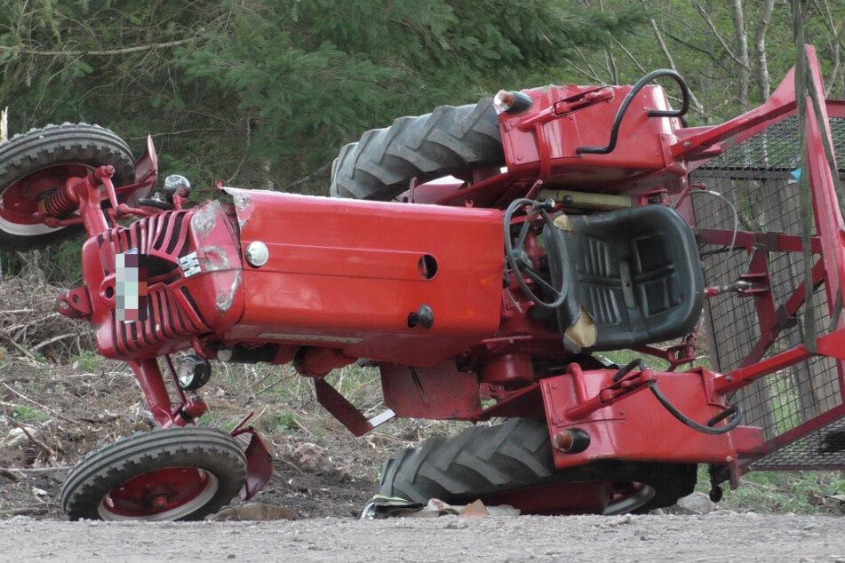 Junger Traktor-Fahrer kommt bei tragischem Unfall ums Leben