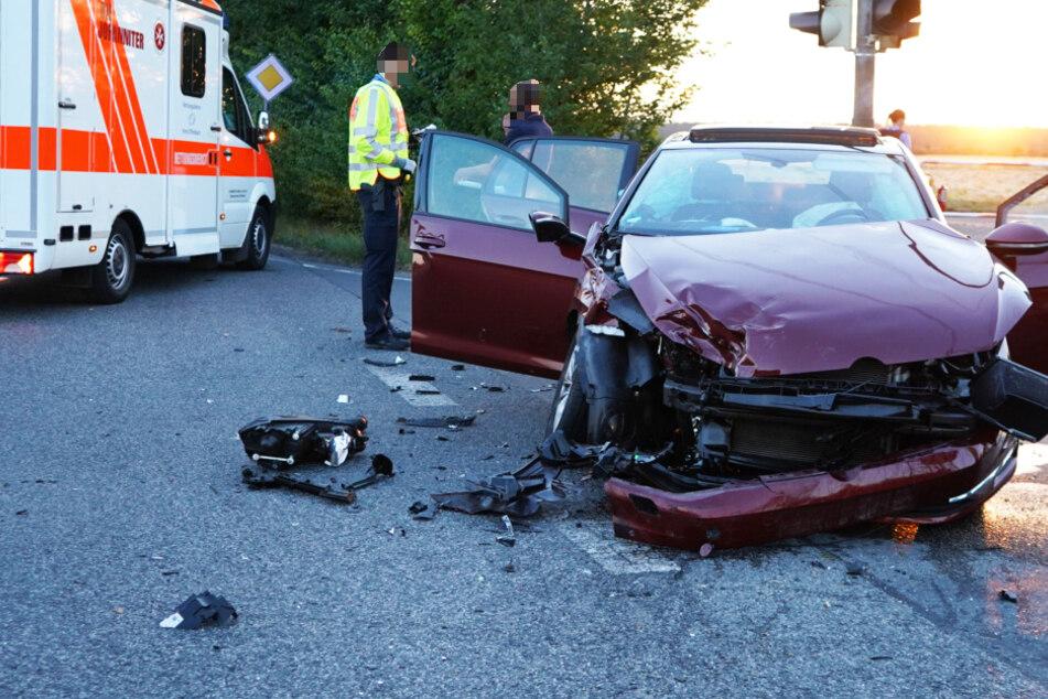 Schwerer Unfall mit mehreren Verletzten bei Offenbach