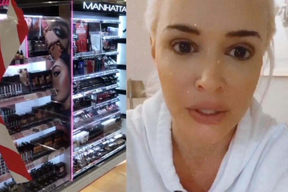 Daniela Katzenberger erklärt, warum sie nicht in der Make-up-Abteilung einkaufen kann