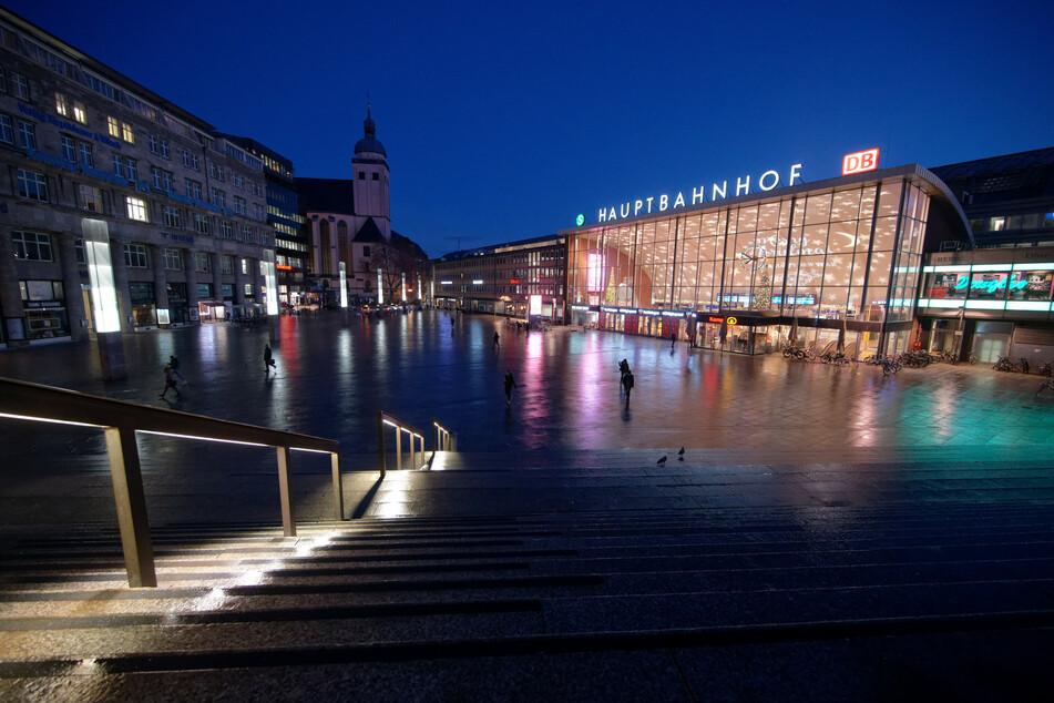 Erster Lockdown-Tag: Wenig los in der Kölner Innenstadt