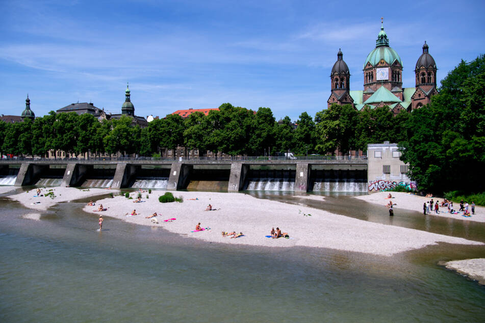 Die Strömung der Isar in München wird oft unterschätzt.