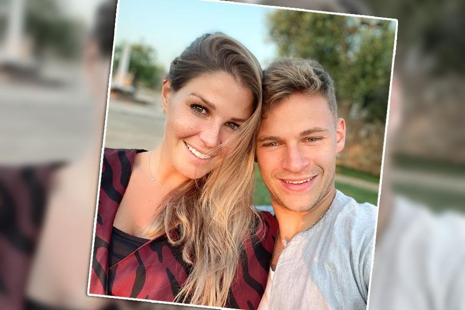 Erneutes Babyglück bei Lina Meyer und Bayern-Star Joshua Kimmich (r.): Baby Nummer 2 ist unterwegs.