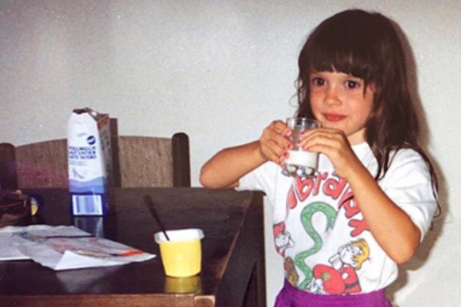 Süßes Milchmädchen: Dieser Promi sieht heute ganz anders aus