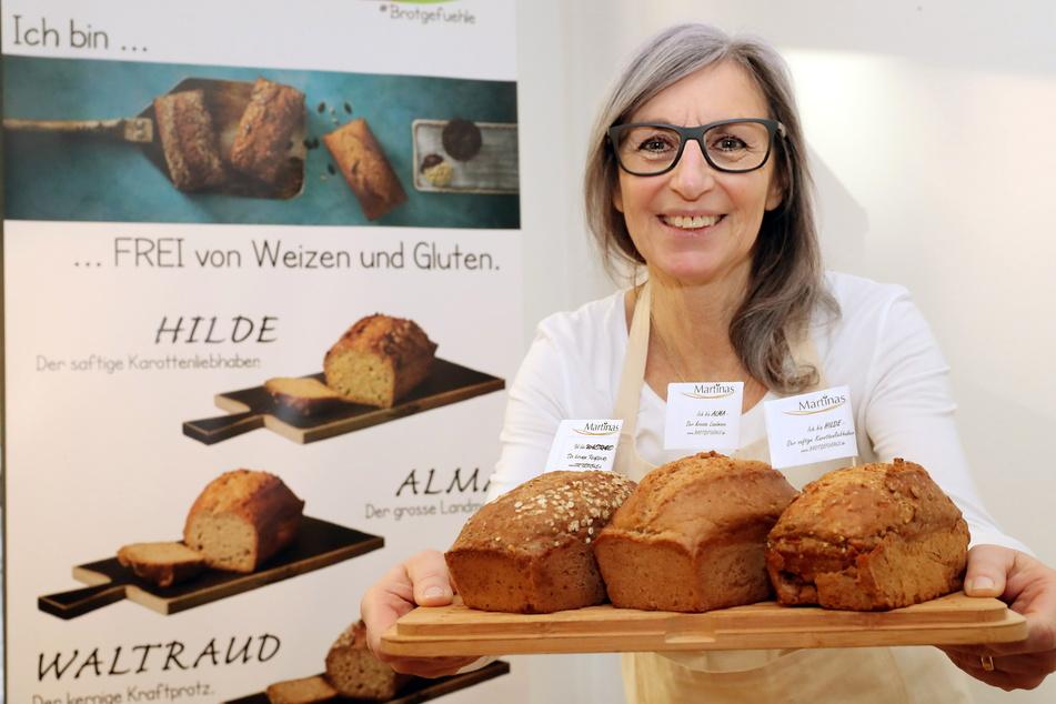 Stellt sich dem Bäckerei-Sterben entgegen: Martina Faßbender (64) gründete eine glutenfreie vegane Bio-Bäckerei.