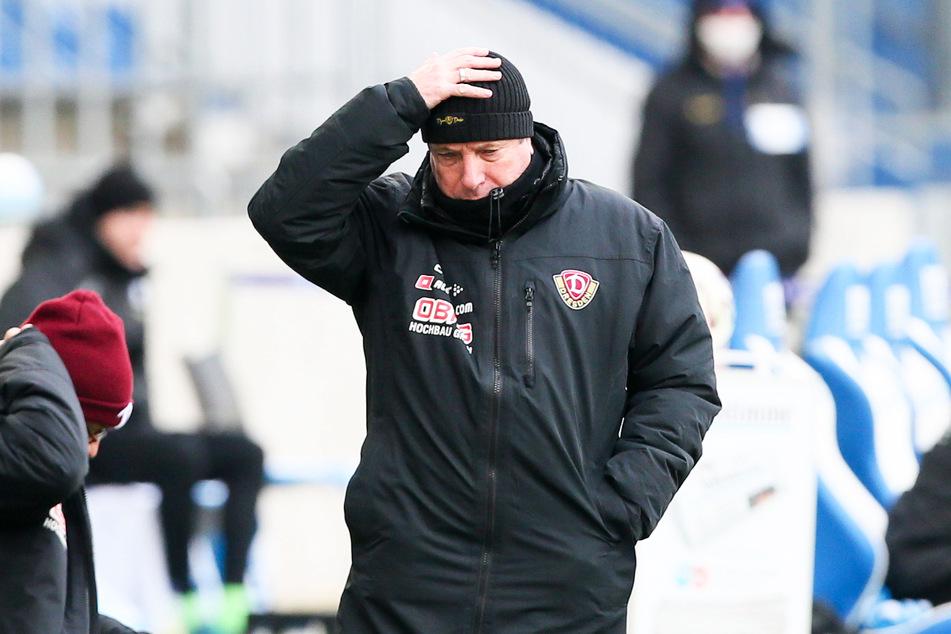 Die Anfangsphase beim Spiel in Magdeburg stimmte Markus Kauczinski (50) noch nachdenklich, am Ende aber war er zufrieden mit seiner Mannschaft und vom Empfang in Dresden total begeistert.